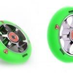 Neue grüne anaquda Wheels
