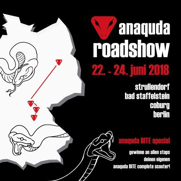BACK ON TOUR: ANAQUDA ROADSHOW 2018